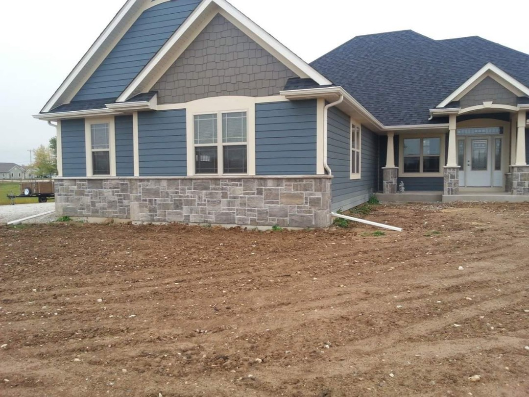 Stone work new construction call NSBW for free quote