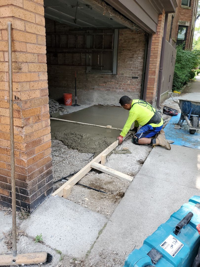 Concrete repairs by NSBW call us for free quote