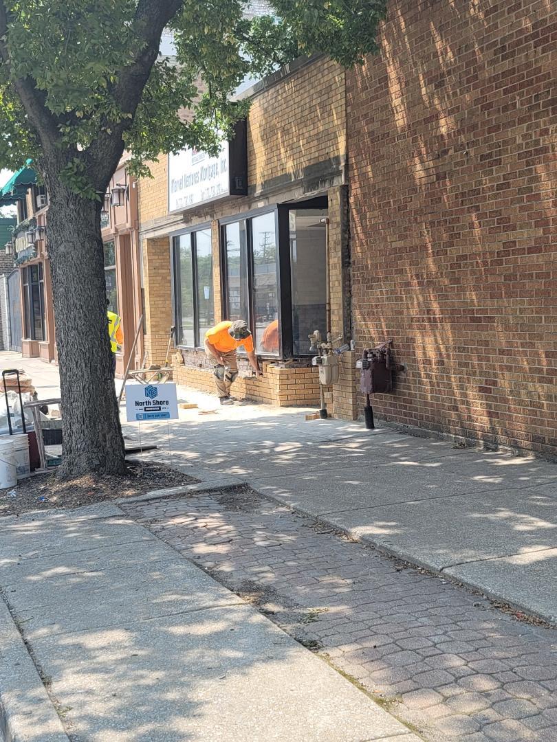New brick wall for North Shore Brick