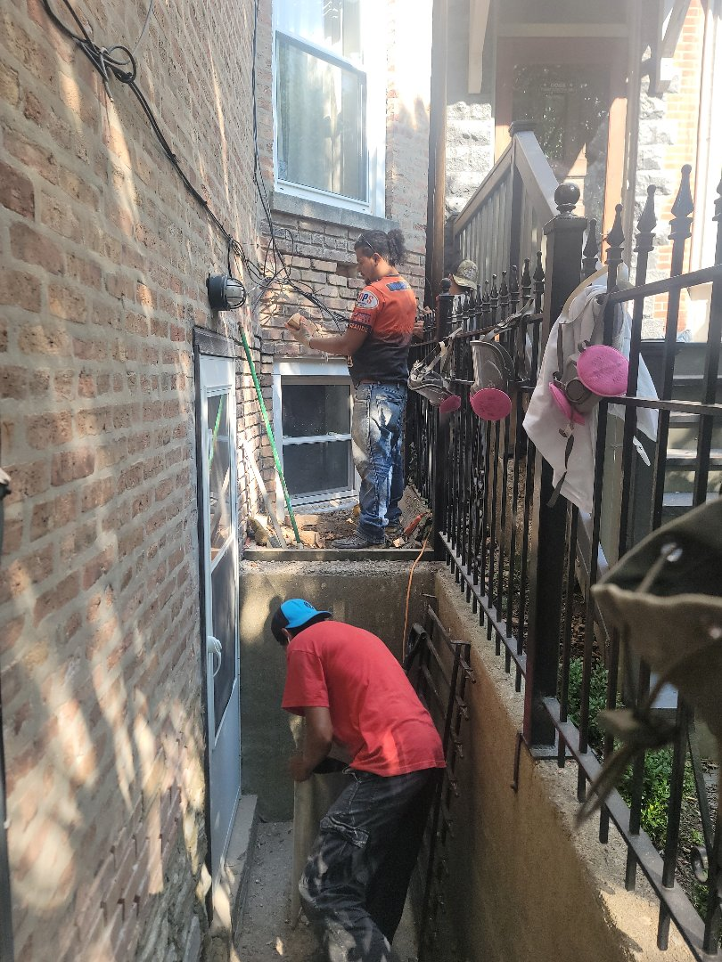 Brick Replacement and Tuck Pointing by North Shore Brickworks