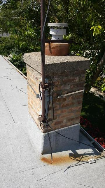 Chicago, IL - Residential masonry related chimney repair is often needed after harsh winters.  Make sure you check your chimney out for defects this spring.