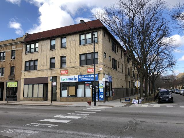 Chicago, IL - Multi-unit apartment building needing lintel repair and replace as well as chimney repair on the roof.  Needs new shingle roof as well for others to bid.