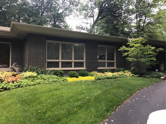 Palatine, IL - We love client referrals! And that is how we were matched with this client and again we have another happy client! Here we removed existing old metal framed windows and replaced with new glass blocks, new lintels, flashing and a few new bricks. Call us for your free estimate!