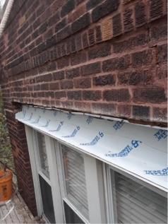 Another very happy customer! We opened up and reflashed lintels, completed tuckpointing and removed/capped a chimney for a customer who has been part of the North Shore happy family for years.