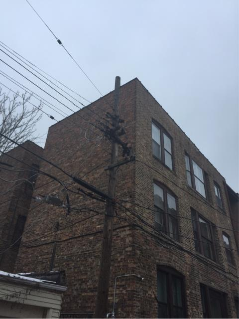 Chicago, IL - Inspected this Hyde Park building for one of the largest Property Management companies in greater Chicagoland area. This project will include tuckpointing around the entire building to repair masonry defects.