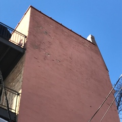 Chicago, IL - Estimate inspection for a 4 unit building in Chicago for masonry repairs needed on a painted brick wall.