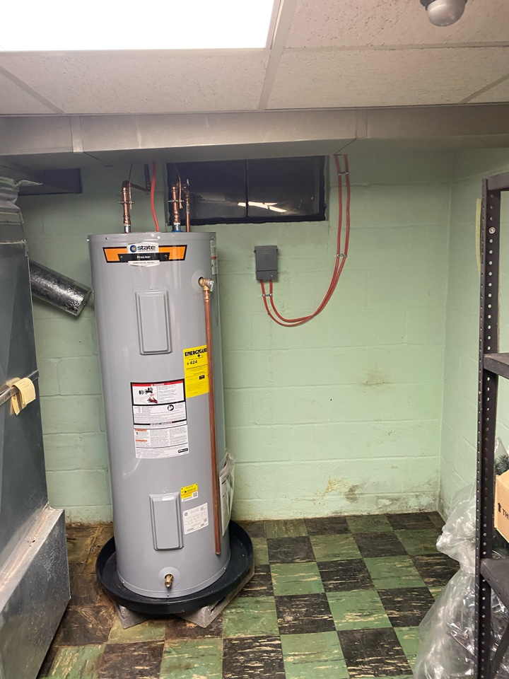 Hot water heater needed circuit size increased. This was another successful after hours emergency call.