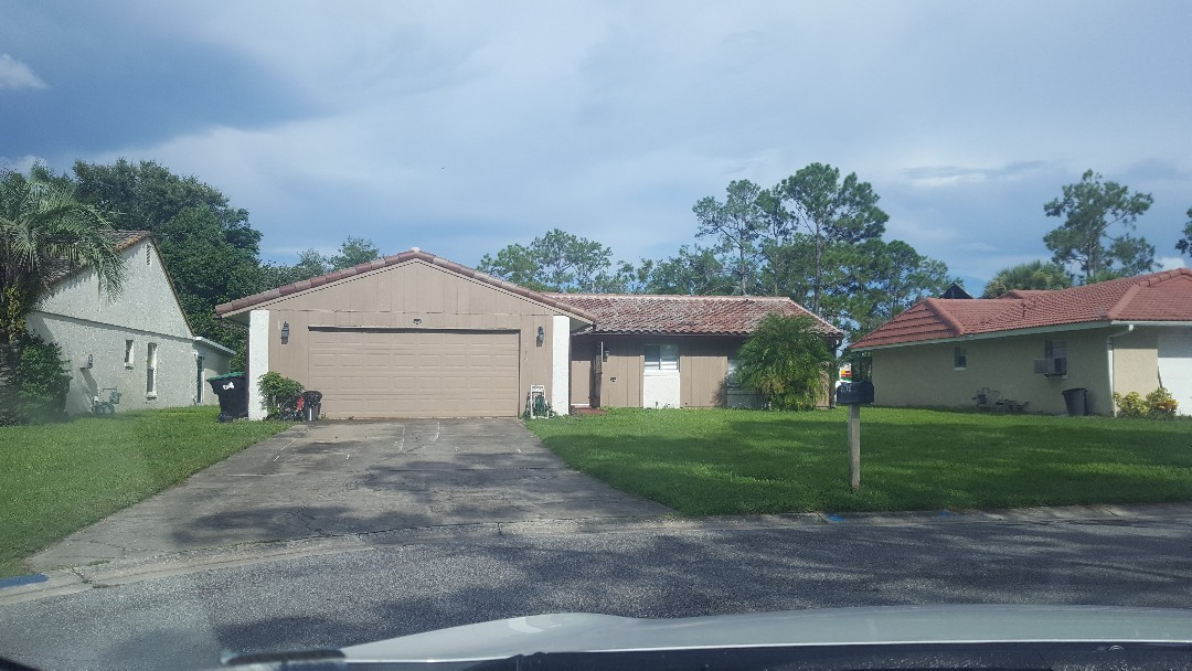 Orlando, FL - Just finished another tile roof for a satisfied family in Lime Tree!