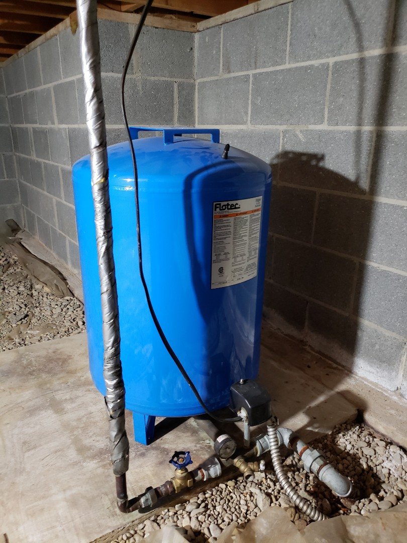 Webberville, MI - Plumber needed webberville  Great reviews  New well pump  Low water pressure  Iron stain iron sediment build up