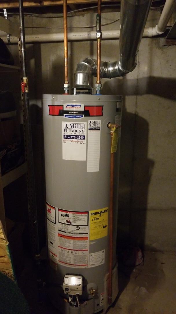 Howell, MI - Replace water heater No hot water Best plumbers near me in Howell,  mi Plumber needed near me  J. Mills Plumbing