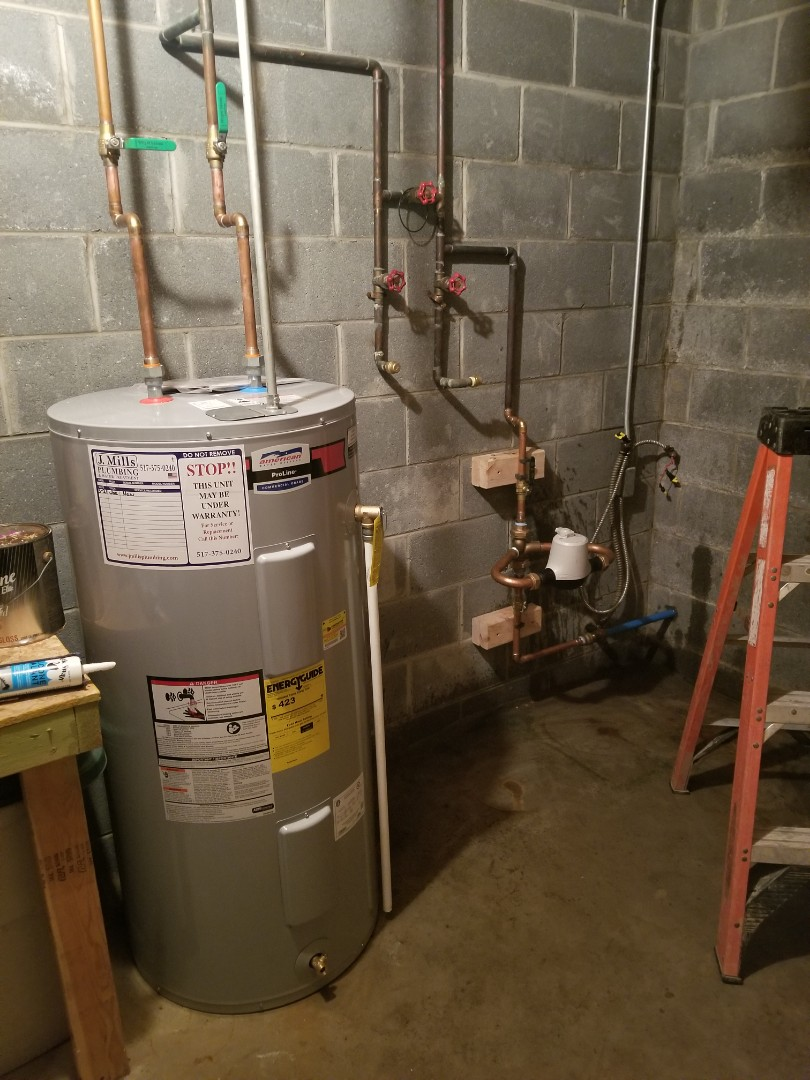 Howell, MI - Best plumber near me  Plumber near me in Howell,  mi City water  New electric water heater  City water service