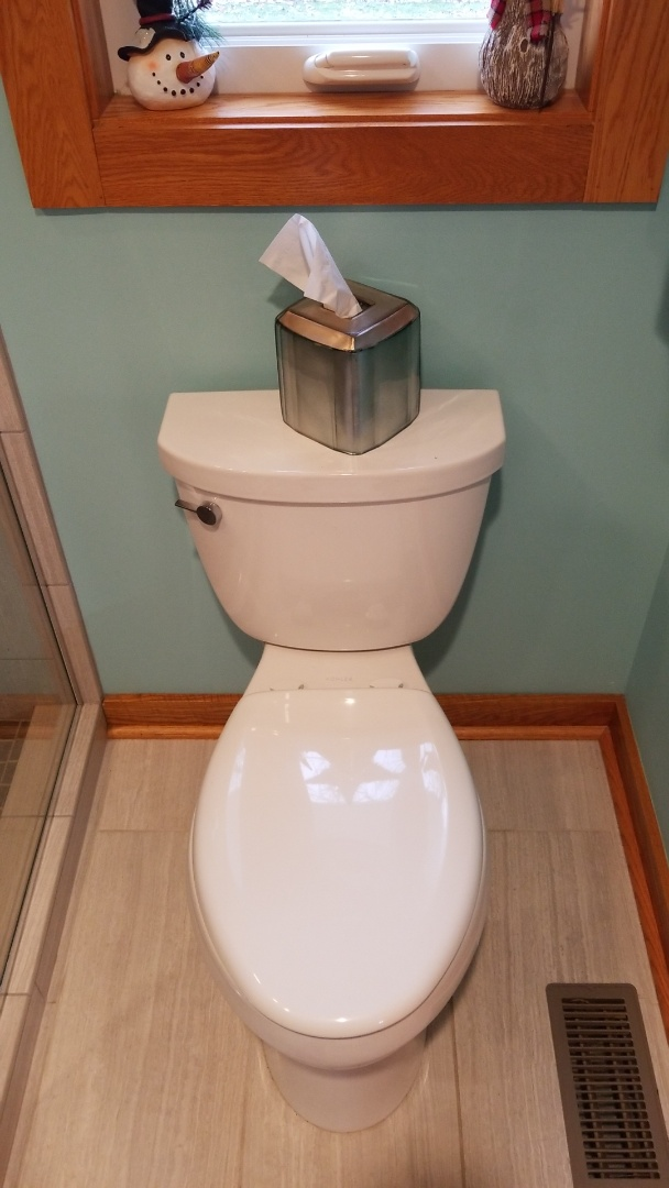 Gregory, MI - Auger toilet