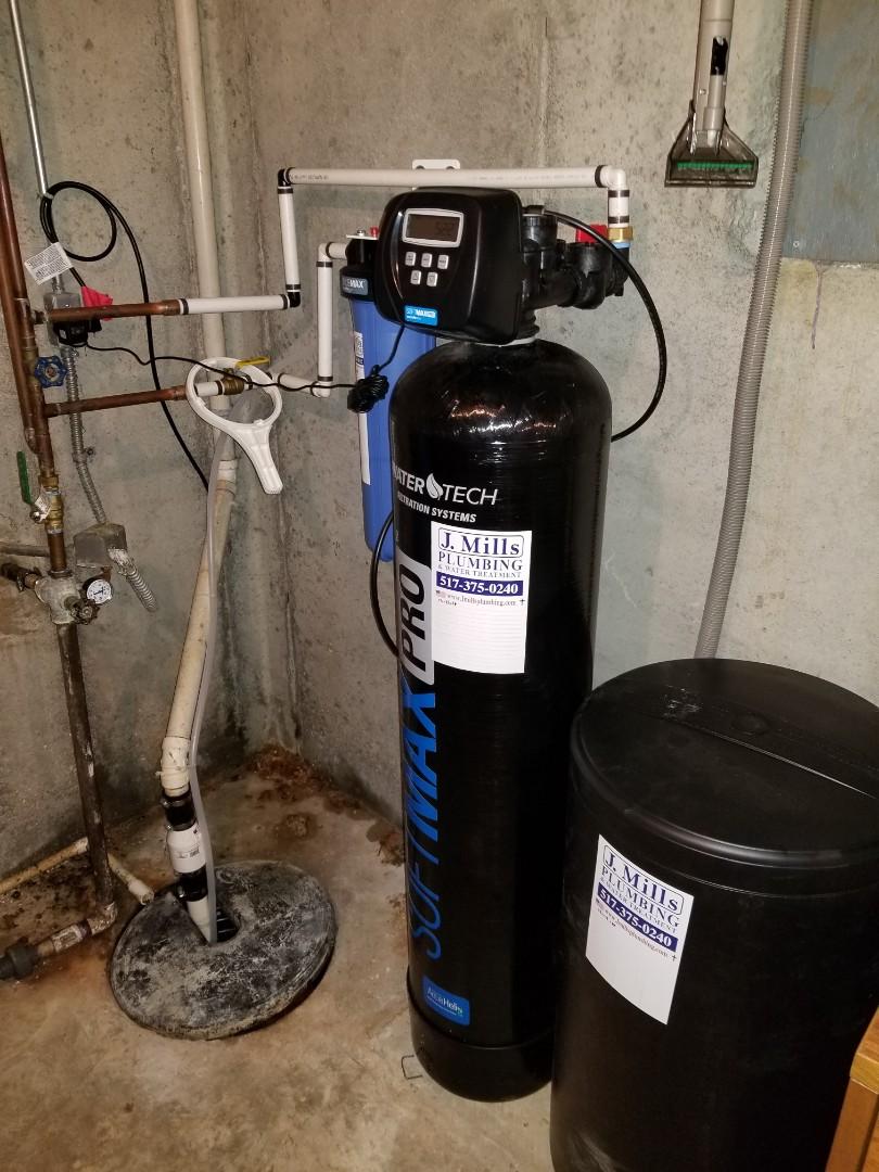 Brighton, MI - Install new water softener
