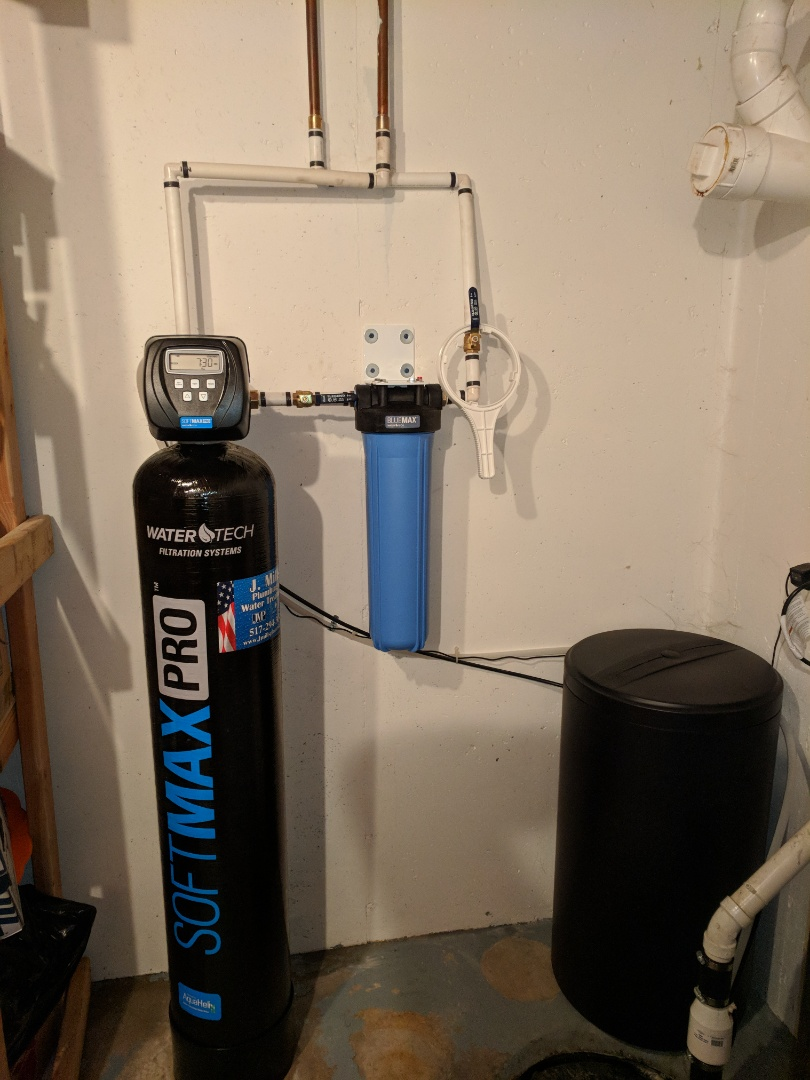 Howell, MI - Install water softener and prefilter water filter