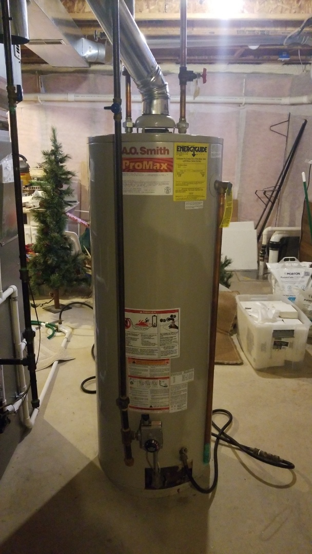 Pinckney, MI - Plumber near me Plumber need  Replace water heater  New hot water heater