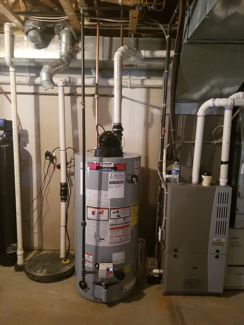 Linden, MI - Plumber needed near me Good reviews  New hot water heater.  Need water heater