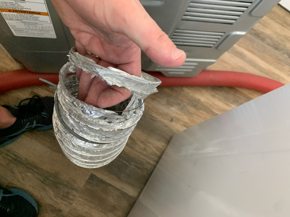 Fixing Dryer vent