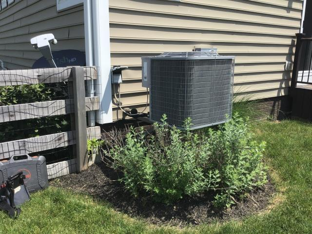 Plain City, OH - Replaced AC efficiency kit for ICP AC. Customer also purchased a scheduled maintenance agreement. System operational at departure.
