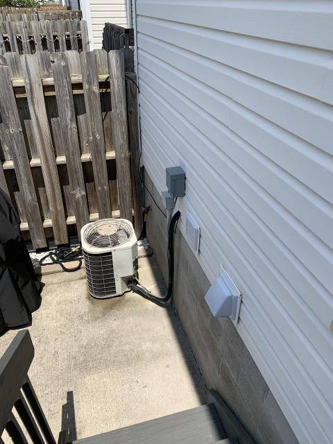 Westerville, OH - I installed a new  Carrier 80% 70,000 BTU Gas Furnace & Carrier 16 SEER 2 Ton Air Conditioner