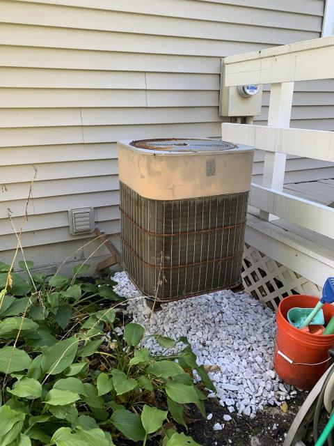 Columbus, OH - I provided an estimate for a new Carrier 96% Gas Furnace and a new Carrier 16 SEER 3 Ton Air Conditioner