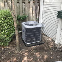 Columbus, OH - I found airflow to be proper. low compression ratio. Condenser needs replaced.