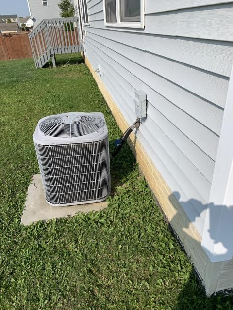 Delaware, OH - I Found the 2010 Carrier system low on refrigerant and needing maintenance. Customer declined repair and replacement options at this time.