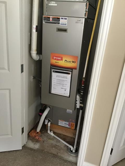 Blacklick, OH - I am Performing our Five Star Tune-Up & Safety Check on a  2007 Bryant Gas Furnace.  All readings were within manufacturer's specifications, unit operating properly at this time.