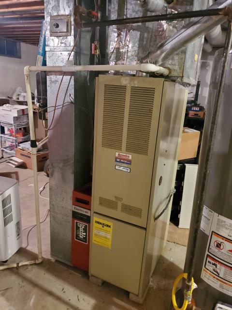 Hilliard, OH - I installed a new Carrier 96% 60,000 BTU Gas Furnace