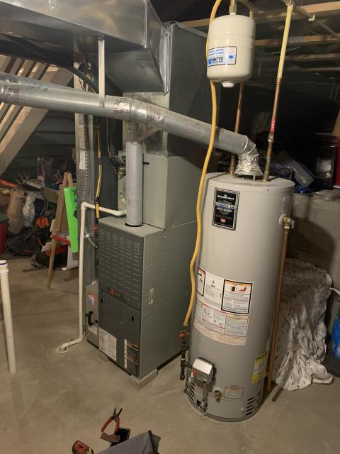 Lewis Center, OH - Found system coding lockout. Tuned in the Trane system and let system run. System cycled on for a few seconds. And would try again. Tested flame sensor and found it reading low. Inspected heat exchanger and found no issues. After cleaning flame sensor system fired without issue.
