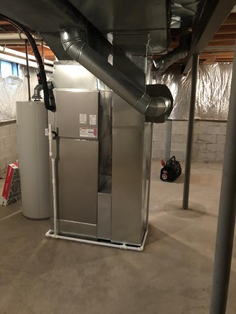 Dublin, OH - I installed a new Carrier 96% Two-Stage 80,000 BTU Gas Furnace and a new Carrier up to 17 SEER 2 STAGE 3 Ton Air Conditioner
