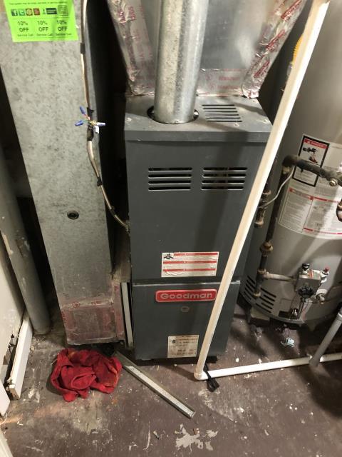 Gahanna, OH - Found flame sensor 0.0uA Cleaned, 2.2uA Now heating properly