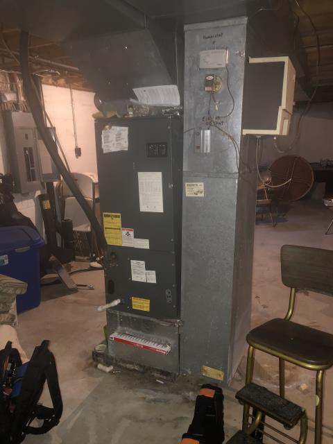 Dublin, OH - While performing a diagnostic test, I found the compressor in the heat pump to be non functioning. I explained repair options to the customer and she decided to fully replace her unit.