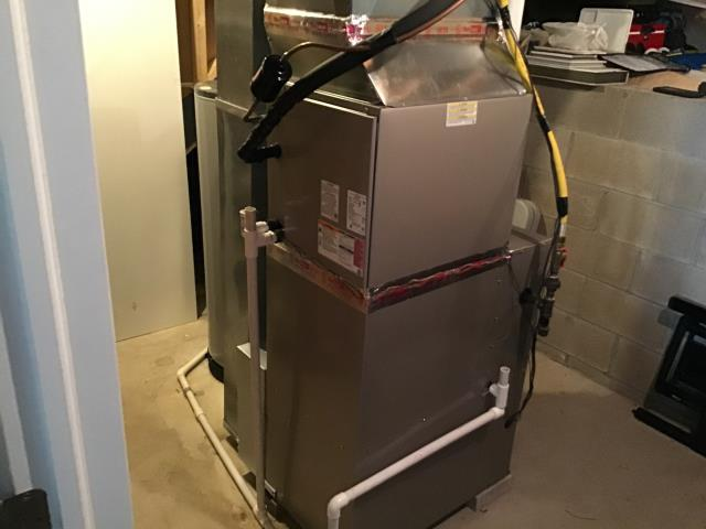 Dublin, OH - I performed a Fall maintenance tune up and safety check on a 90% Carrier gas furnace. No issues found, system operational on departure.