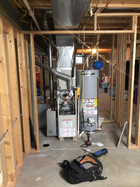 Lewis Center, OH - I performed a tune up on a Comfortmaker gas furnace. During the tune up, I cleaned the flame sensor and burners to help the system run efficiently.