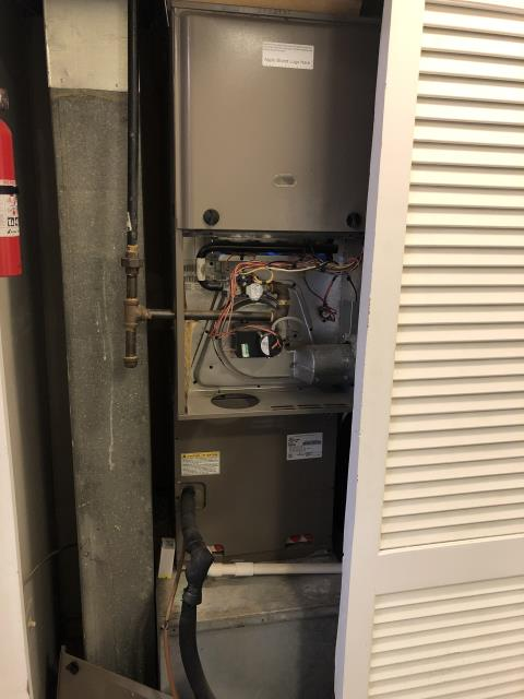 Hilliard, OH - I found the issue to be with the flame sensor. I cleaned the sensor and system is operating properly. I informed customer that the system is getting close to needing to be replaced so they could start to consider options.