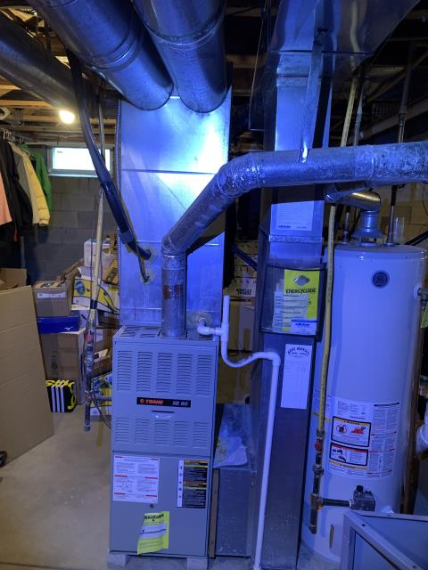 Westerville, OH - I provided an estimate on a Carrier 96% Two-Stage 60,000 BTU Gas Furnace and a Carrier up to 17 SEER 2 STAGE 3 Ton Air Conditioner