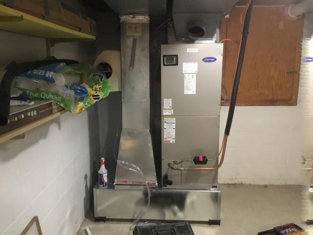 Westerville, OH - I was unable to replicate loud noise. I ran system with emergency heat and heat pump at full capacity and highest stages. 2020 Carrier electric unit operating at this time.