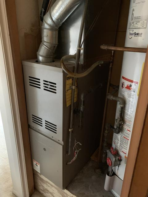 Delaware, OH - I lit the water heater. Found gas pressure within specs on 2020 Carrier 80% 45,000 BTU Gas Furnace System is operational on departure and the water heater stayed lit.