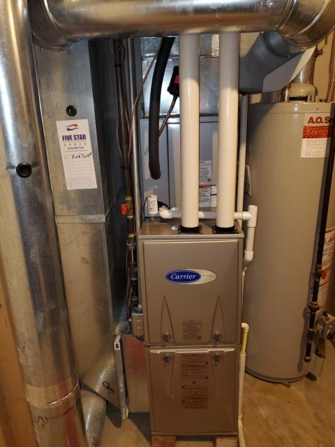 Blacklick, OH - I rewired humidifier control and tested. I then ensured that the heating cycle ended when system shut off. Humidifier and 2020 Carrier gas furnace both operating properly at time of departure.