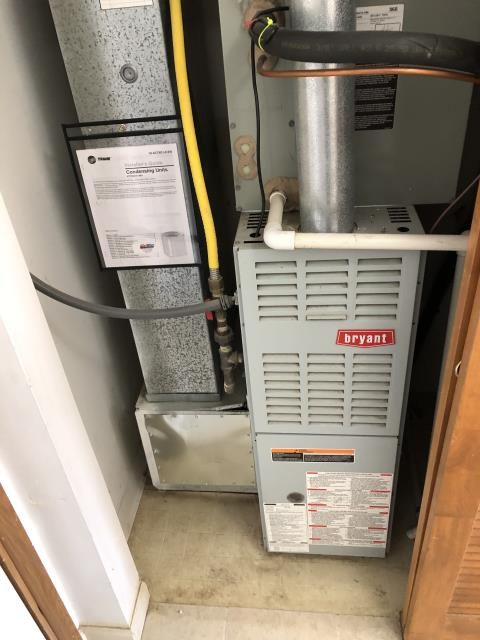 Lewis Center, OH - I replaced bot the OEM ignitor and the motor surge capacitor. I also un-installed, cleaned and re-installed the blower motor. The 2000 Trane gas furnace is operating as expected at time of departure.