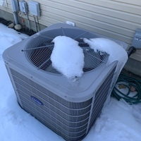 """Dublin, OH - Customer stated that there was a """"burning"""" smell and loud humming noise coming from the furnace. Tested capacitor and found it reading out of specs. I also attempted to spin motor by hand to start but motor is locked up and will not operate. Quoted repair and replacement options. Customer elected to replace system. I Scheduled install."""