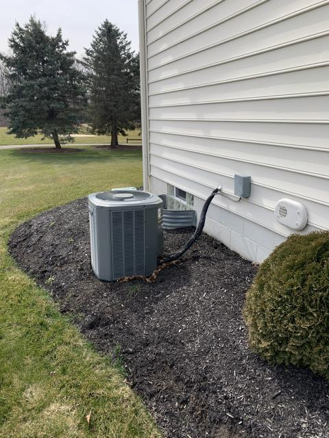 Powell, OH - I provided customer with an estimate to replace their Trane air conditioner with a Carrier 16 SEER 3.5 Ton Air Conditioner. The customer will review the estimate and let us know how they would like to proceed.