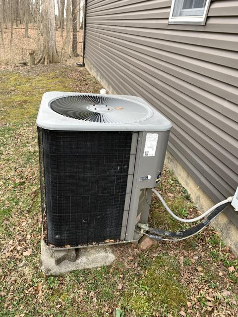 Ashley, OH - I completed a service call for a HP that has been vibrating. Some pitting on contactor. Slight noise from outdoor fan motor. System operational upon departure.