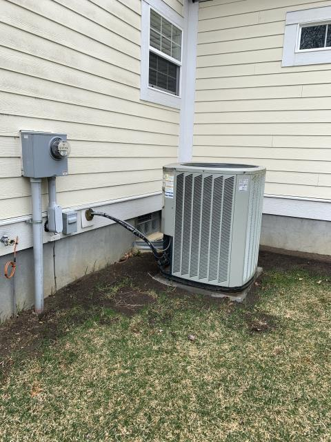 Dublin, OH - I provided the customer with a quote to relocate their A/C unit. Will wait to hear from the customer on how they want to proceed.