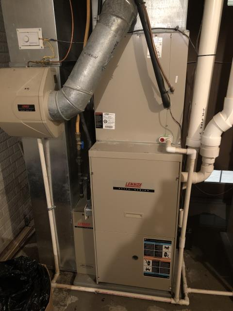 Dublin, OH - Upon inspection, I found the condensate trap was cracked and needed replaced. I informed the customer I would work on contacting the manufacturer and finding a replacement. Will contact customer with answer. System is operational upon departure.