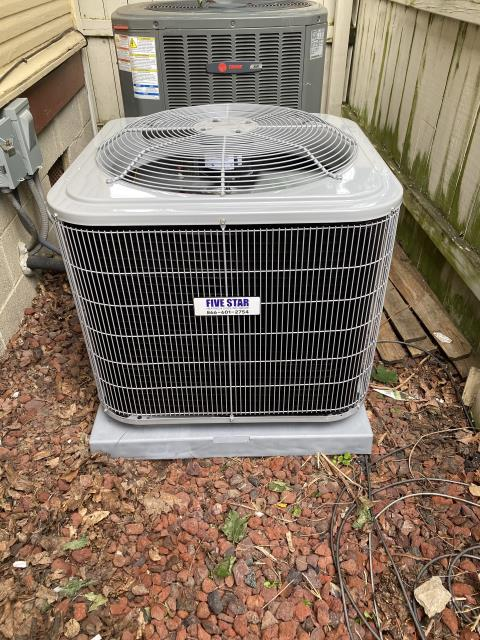 Delaware, OH - I performed a call back install on a 2015 Trane. Upon arrival I discovered that the customer will need a electrician to replace the amp breaker, the system was low on refrigerant also. System was operating at the time of departure.