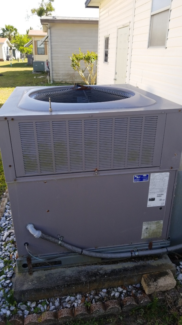 Homosassa Springs, FL - REPLACE bad indoor blower motor on a carrier 3ton heat pump ac pkg unit