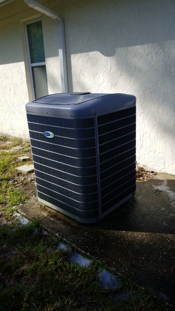 Homosassa, FL - Check up on a carrier infinity 5 ton heat pump ac system