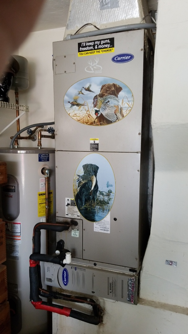 Crystal River, FL - Check up on a carrier infinity 3 ton heat pump ac system