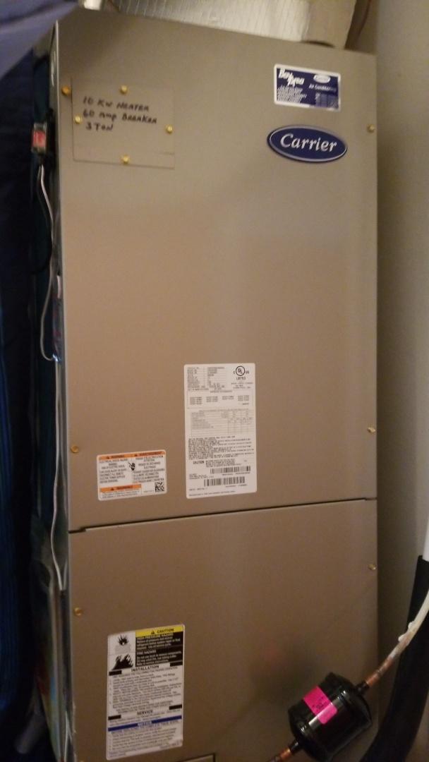 Crystal River, FL - Intermittent fan motor on a carrier 3 ton heat pump ac system